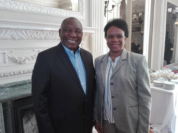 Le président sud-africain reçoit la vice-présidente cubaine