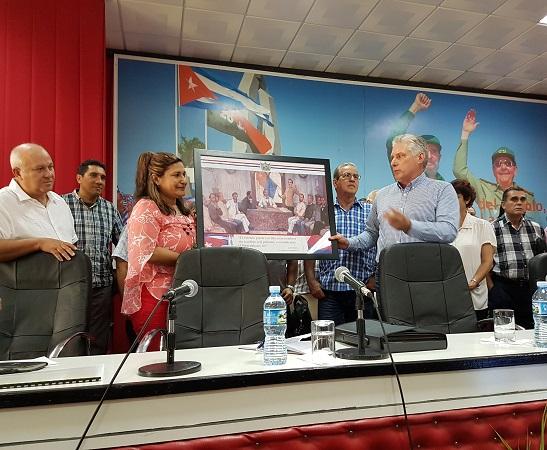 Concluyó visita gubernamental a la provincia de Camagüey (+ Audio y Fotos)