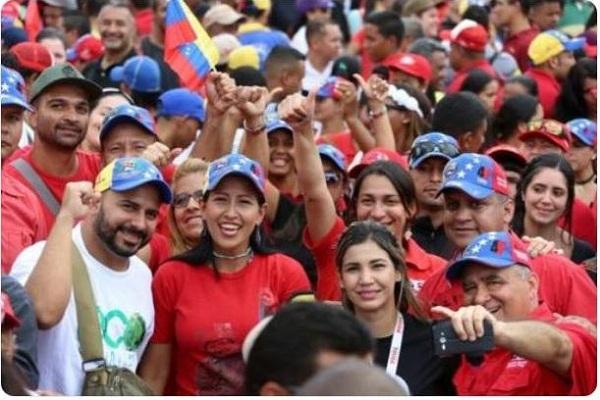 Gran concierto por la paz en Venezuela