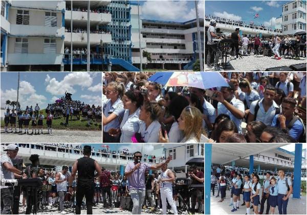 Celebran en escuela camagüeyana aniversario 42 de su inauguración por Fidel