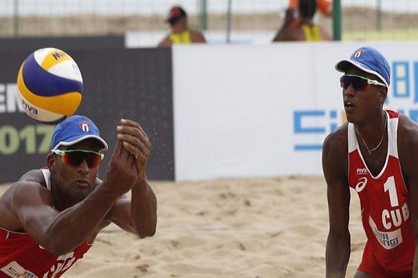 Mundial de Voleibol de playa: duplas cubanas ante chinas y brasileños