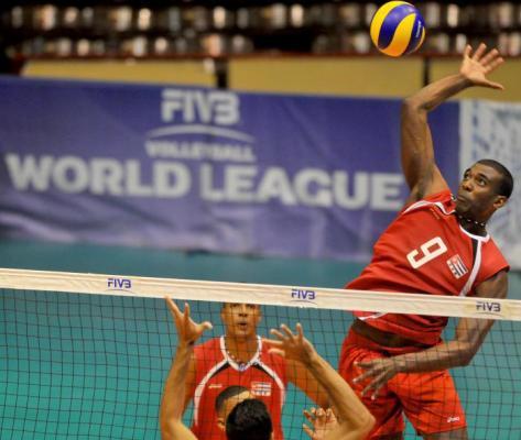 Les équipes de Cuba et des États-Unis pour arriver au sommet du volley