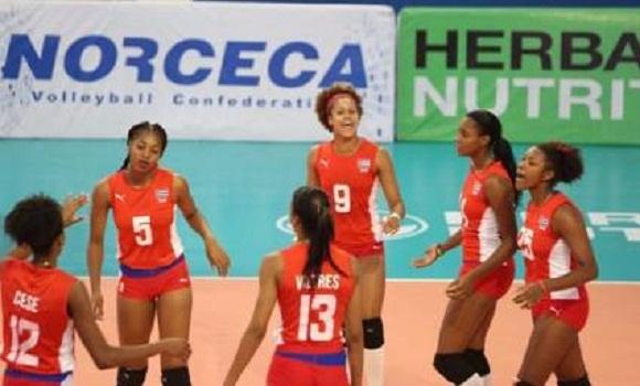 Jovencitas cubanas ganan invictas Copa Panamericana de Voleibol y boleto mundialista
