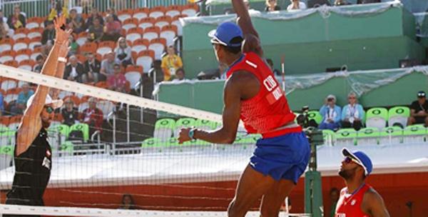 Eliminada dupla cubana en circuito mundial de Voleibol de playa