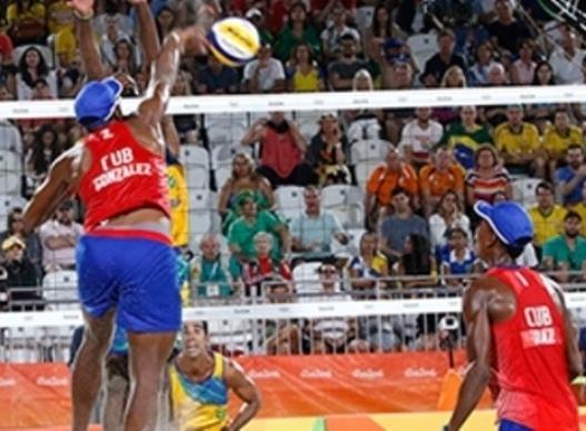 Eliminados cubanos en parada de Itapema de Voleibol de playa