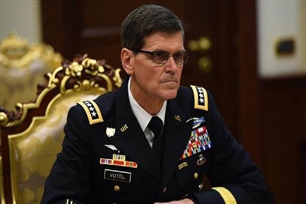 En Iraq el general estadounidense Votel
