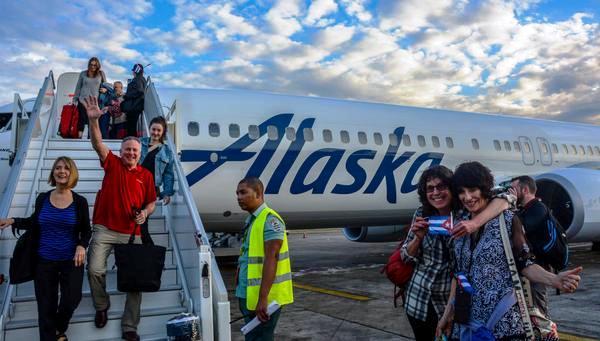Aerolínea Alaska comenzó vuelos a Cuba desde Los Ángeles