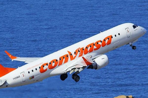 Anuncia vuelos Cuba-Nicaragua la aerolínea venezolana CONVIASA