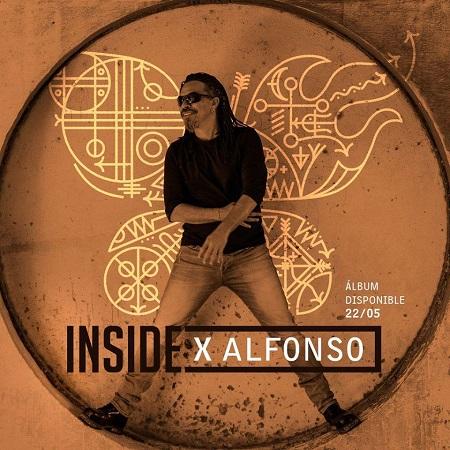 El 22 de mayo será la presentación del disco Inside de X Alfonso