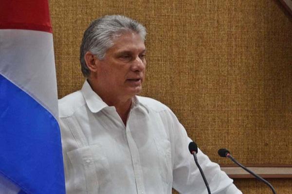 Díaz-Canel condena nuevas acciones injerencistas de EE.UU. contra Cuba (+ Tuit)
