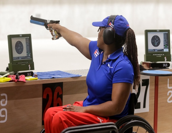 Cuba prepares shooters for Tokyo 2020 Paralympic Games