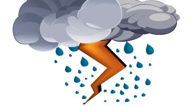Día cálido con aisladas precipitaciones en Camagüey