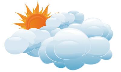 Día agradable con predominio de nublados en Camagüey